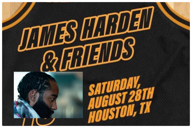 James Harden photo obtained from official Facebook page.