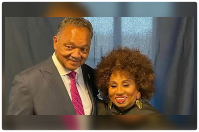 Photo obtained from official Twitter page of the Rev. Jesse Jackson